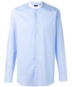 Z Zegna | Mandarin Collar Shirt