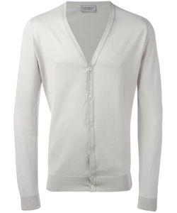 John Smedley | Classic Knitted Cardigan Medium Cotton
