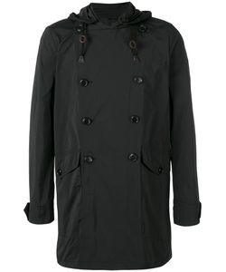 Aspesi | Hooded Double Breasted Coat Size Small