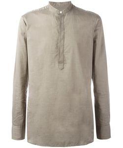 E. Tautz | Grandad Collar Shirt 17 1/2 Cotton