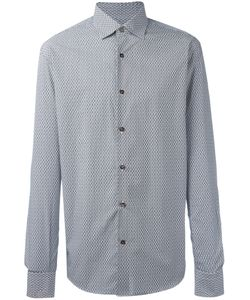 Salvatore Ferragamo | Geometric Print Shirt Small Cotton