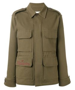 Ava Adore | Embroidered Pocket Military Jacket