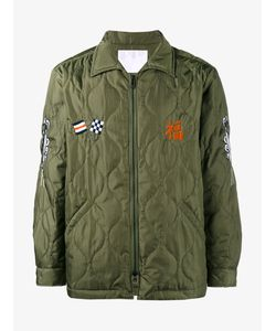 White Mountaineering | Embroidered Quilted Jacket 1