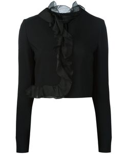 Giambattista Valli | Fitted Cropped Jacket Size 38
