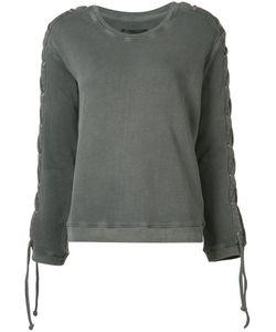 Rta | Laced Sleeve Sweatshirt