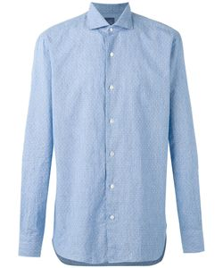Barba | Button-Up Shirt 44 Linen/Flax/Cotton