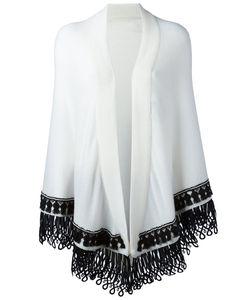 Antonia Zander | Colour Block Large Scarf Cotton/Polypropylene/Cashmere