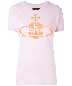 Vivienne Westwood Red Label   Cross Stitch Logo T-Shirt