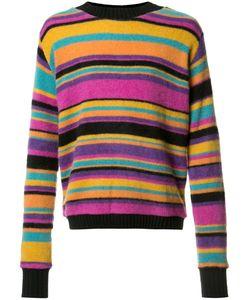 The Elder Statesman | Colour Block Jumper Small Cashmere