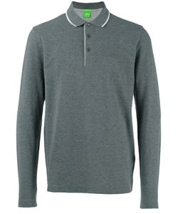 Boss Hugo Boss   Long-Sleeve Polo Shirt Size Medium