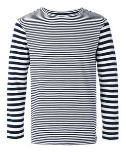 Blue Blue Japan | Long Sleeve Stripe T-Shirt