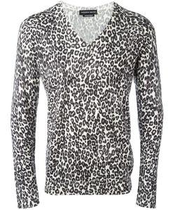 Alexander McQueen | Leopard Intarsia Jumper Medium Silk/Wool