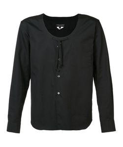 Comme Des Garçons Homme Plus   Scoop Neck Shirt Size Medium
