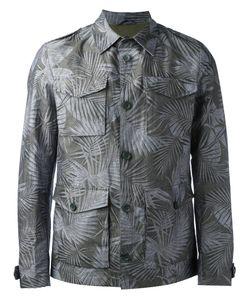 Herno | Leaf Print Shirt Jacket 50