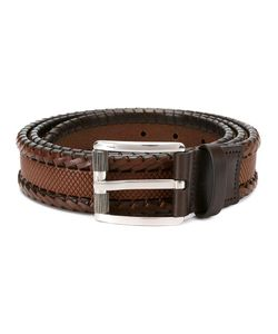 Salvatore Ferragamo | Textured Belt 95