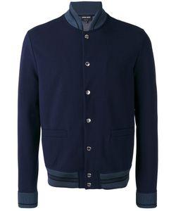 Giorgio Armani | Teal Tipped Varsity Jacket Size 50