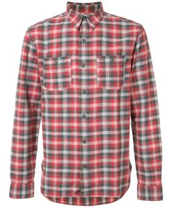Rrl | Plaid Shirt Medium Cotton