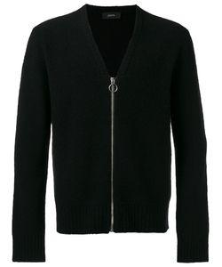 Joseph | Boiled Knit Zipped Cardigan Size Large