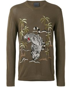 Laneus | Jungle-Print T-Shirt Size 50