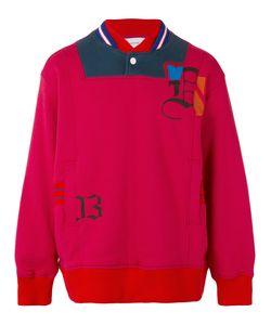 Facetasm | Collar Detail Sweatshirt Iv