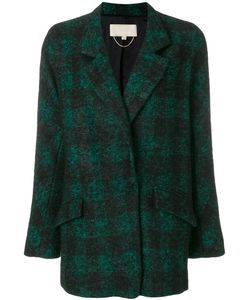 Vanessa Bruno   Check Fitted Coat