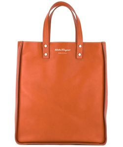 Salvatore Ferragamo | Top-Handle Tote Calf Leather/Metal Other