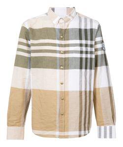 Moncler Gamme Bleu | Button-Down Plaid Shirt Size Iv