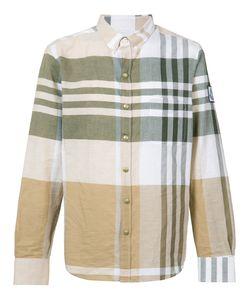Moncler Gamme Bleu | Button-Down Plaid Shirt