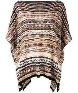 Missoni | Striped Knitted Poncho One