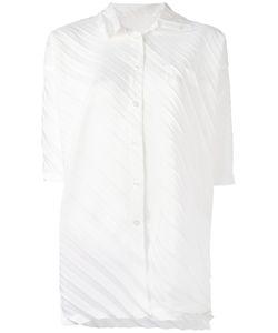 Issey Miyake Cauliflower   Pleated Shirt Women
