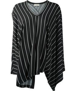 Balenciaga | Draped Striped Blouse Size 42