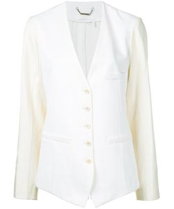 Chloé | Waistcoat Style Collarless Blazer