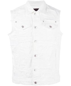 Dsquared2 | Distressed Sleeveless Denim Jacket 54