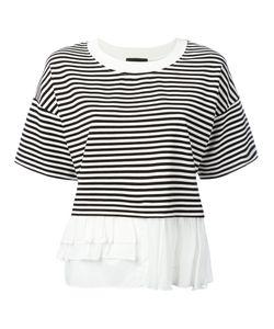 Boutique Moschino | Frill Trim T-Shirt Size 42