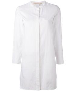 'S Max Mara | S Max Mara Mandarin Neck Elongated Shirt Size 40