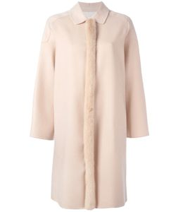 Agnona | Fur Trim Coat 38
