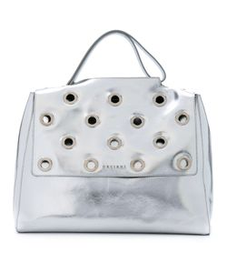 Orciani | Studded Flap Tote