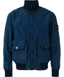Stone Island | Arm Patch Bomber Jacket Large Polyester/Polyurethane
