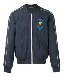 Nuur | Embroidered Bomber Jacket 50