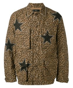 Amiri | Leopard Print Military Jacket