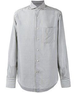 Loro Piana   Alain Striped Shirt Size Small