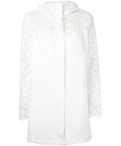 Moncler Gamme Rouge | Lace Sleeve Coat Size
