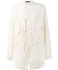 Ziggy Chen | Tie Detail Shirt Size Xl