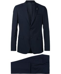 Lardini | Flap Pockets Two-Piece Suit Size 50
