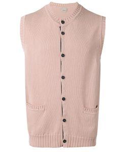 Lardini | Sleeveless Cardigan Size Large