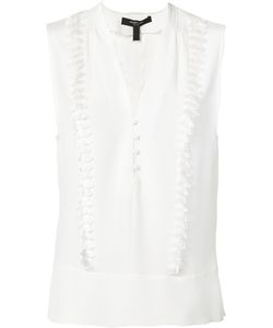 Derek Lam | Fringed V-Neck Top Size 48