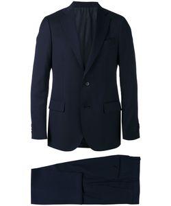 Lardini | Notched Lapel Two-Piece Suit Size 48