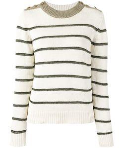 Vanessa Bruno | Striped Jumper Medium Cotton/Linen/Flax/Viscose/Polyester