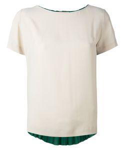 Erika Cavallini | Pleated Back T-Shirt