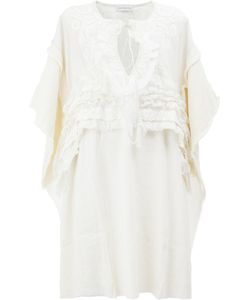 Faith Connexion   Embroidered Mid-Length Dress Size Small